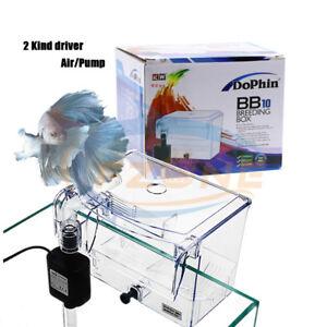 Pneumatic Aquarium External Air or Pump Driveing Fish Breeding Separation Box