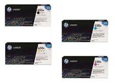 4 Original Toner HP Color Laserjet CP5520 CP5525 M750 DN N / CE270A -CE273A 650A
