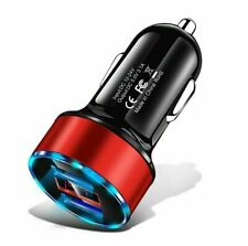 USB Phone Charger 3.1A LED Display Car Adapter For Xiaomi Samsung iPhone 11 Pro