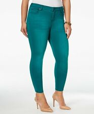 Celebrity Pink Infinite Stretch Ankle Skinny Jeans Size 22 Teal Green #4489
