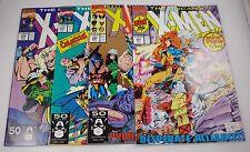 X-MEN #278,279,280,281 NEW TEAM PORTACIO  9.4'S