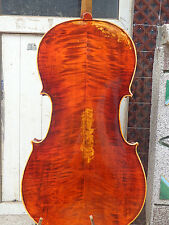 4/4 Size Cello full Hand made antique old style handcarved bright sound