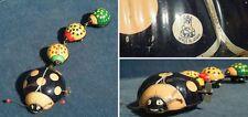 Blechspielzeug Marienkäfer; 50er Jahre; Made in Japan; Marke T.P.S. Funktioniert