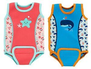 MOTHERCARE Baby Wetsuit Warmer Swimsuit Boys Girls Sunsuit Swim Nappy UPF50+