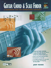 Guitar chord & scale finder; fisher, jody, guitare enseignement (classique) - 14148
