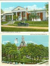 Ridgeway PA Ridgeway Collector's Set: The Elk Court House and General Hospital