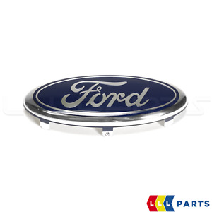 NEW GENUINE FORD FIESTA 01-08 FRONT BUMPER CENTER GRILLE OVAL FORD BADGE EMBLEM