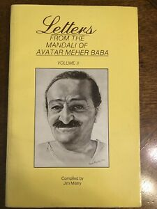 Letters from the Mandali of Avatar Meher Baba Volume II Paperback Book 1988