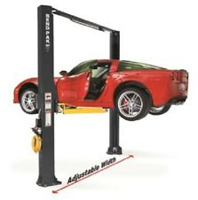 Bendpak XPR-10AS 2-Post Wide 10,000 lb Clearfloor Asymmetric Car Lift
