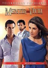 Mentir para Vivir (DVD, 2014, 4-Disc Set)