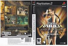 Tomb Raider: Anniversary, Collector's Edition - Playstation 2.  Complete