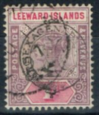 Single Victorian (1840-1901) Leeward Islands Stamps