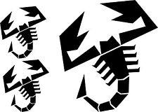 KIT ABARTH - PEGATINAS - STICKERS - VINILO - LAMINA - PACK- AUFKLEBER  - VINYL