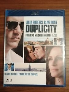 DUPLICITY (2009) Julia Roberts - Clive Owen BLU RAY NUOVO E SIGILLATO