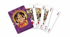 Tree-Free Greetings Standard Playing Card Deck, Ganesha Themed Boutique Art
