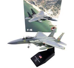 Wltk USAF F-15A Eagle 1985 Fighter 1/100 Diecast Model