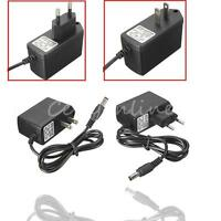 AC 100-240V to DC 5V 6V 7.5V 9V 1A 2A Switching Power Supply Adapter Charger