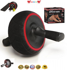 8 Pack Abs Roller Wheel Speed Workout Complete Ab System by Iron Gym, Abdominal
