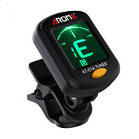 LCD Clip-on Electronic Digital Guitar Tuner for Chromatic Violin Ukulele newly