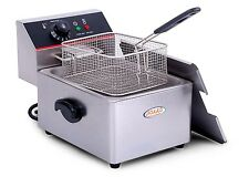 Professional 8L Electric Deep Fryer Countertop Commercial Restaurant Kitchen NEW
