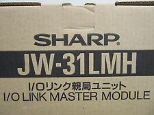 Sharp JW-31LMH PLC I/O Link Master Module NEW!!! in Factory Box Free Shipping
