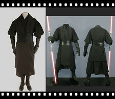 Star Wars darth maul black Tunic  Belt  halloween Cosplay