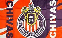 Chivas Guadalajara Flag 3x5 ft Sport Banner Rayadas Mexico Futbol Soccer Bandera