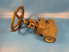 "OMB GLOBE VALVE,FULL PORT 630, 1 1/2"" FB,  NPT STEEL THREADED , Class 800, A105N"