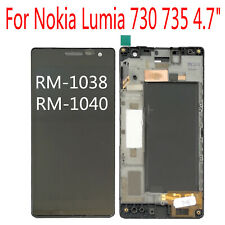 """Original For Nokia Lumia 730 735 4.7"""" RM-1038 RM-1040 LCD Display Touch Screen"""