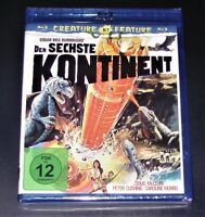 Le Sixième Kontinent (Continent) Créature Feature 7 Collection blu ray Neuf &