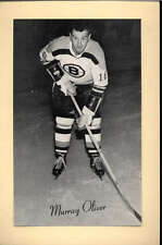 1944-63 BEEHIVE GROUP 2 PHOTOS   MURRAY OLIVER BOSTON BRUINS EX-MT F2542
