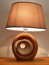 Tischlampe / Design Leuchte / Holzoptik /außergewöhnliche Lampe /  Neu
