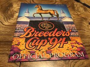 1994  Breeders Cup  Churchill Downs Program Concern
