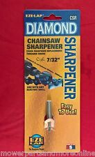 7/32 EZE-LAP DIAMOND CHAIN SAW CHAIN SHARPENER SHARPENS 3/8 AND 404 CHAINS