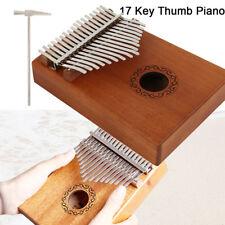 DKL-17 17 Key Kalimba Single Board Mahogany Thumb Piano Mbira With Accessories