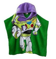 Disney/Pixar's Toy Story BUZZ LIGHTYEAR  ~ Hooded Poncho ~ 3T - 5T ~ NWT