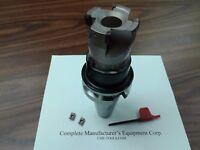 "3/"" 90 degree indexable face mill shell mill Sandvik CAT50 arbor #506-SDVK-3"