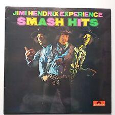 Jimi Hendrix - Smash Hits Vinyl LP UK Polydor Press Front Laminated A1/B6 EX/EX+
