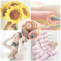Colorful Thick Warm Diy Crochet Knitting Hand-Woven Soft Baby Cotton Wool Yarn