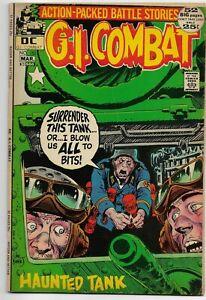 G.I. Combat #152 DC Comics 1972 VG Giant Sized Haunted Tank +