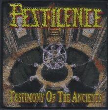 PESTILENCE - Aufnäher Patch - Testimony of the ancients 10x10cm