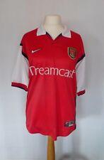 RARE NIKE ARSENAL rosso DREAMCAST Calcio Casa Maglietta Jersey 1999-2000 XL