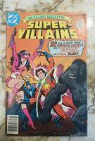 SECRET SOCIETY OF SUPER VILLIANS #10 FN POISON IVY 1 BIZARRO 1 APP 1977 DC COMIC