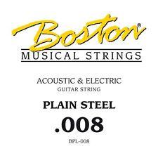 Boston BPL-008 corda singola per chitarra acustica ed elettrica 008