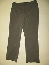 Jones New York Signature Pants 10 Gray Lined Measures 32 x 30.5