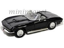 MOTORMAX 73224 1967 67 CHEVROLET CHEVY CORVETTE CONVERTIBLE 1/24 BLACK