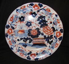 Antique English Gaudy Welsh Plate Circa 1830 Hand Painted