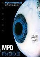 MPD-Psycho: Multiple Personality Detective - Part 3 DVD Takashi Miike - NEW