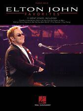 Elton John Favorites Sheet Music Piano Solo Book NEW 000307352