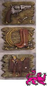 Key Ring Holders set of 3 Cowboy and Western NEW
